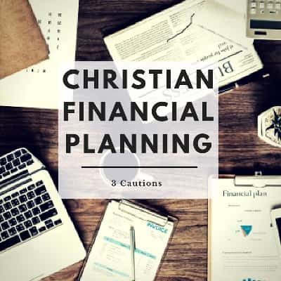 Christian financial planning puts God first.