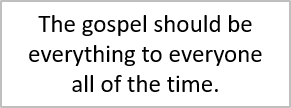 Retirement should be about the gospel.