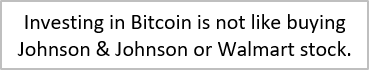 Bitcoin is difficult to understand.